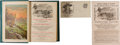 Western Expansion:Cowboy, William F. (Buffalo Bill) Cody: Book and Advertisements.... (Total:3 Items)