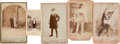 Photography:Cabinet Photos, Theater and Sideshow Performers: Assorted Photos.... (Total: 5Items)