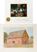 Political:Small Paper (1896-present), Dwight D. Eisenhower: White House Christmas Cards.... (Total: 3 Items)