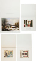Political:Small Paper (1896-present), Ronald Reagan and Gerald Ford: White House Christmas Cards....