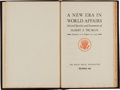 Political:Small Paper (1896-present), Harry S Truman: 1949 Christmas Gift Book. ...