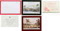 Political:Small Paper (1896-present), Richard Nixon: White House Christmas Cards.... (Total: 8 Items)