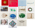 Political:Small Paper (1896-present), Camp David, Air Force One, White House Christmas Cards.... (Total: 28 Items)