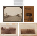 Photography:Cabinet Photos, Three Cabinet Photographs: Two Albumen Photographs of Fort Pembinaand Selby, Dakota Territory, Circa 1880-1900.... (Total: 4 Items)
