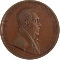 Political:Tokens & Medals, Andrew Jackson: Bronze Indian Peace Medal....