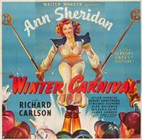 "Winter Carnival (United Artists, 1939). Six Sheet (79"" X 81"")"