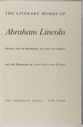 Books:Americana & American History, [Abraham Lincoln]. The Literary Works of Abraham Lincoln.Heritage Press, 1942. Publisher's binding and slipcase...