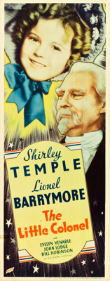 "The Little Colonel (Fox, 1935). Insert (14"" X 36"")"