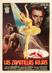 "The Red Shoes (Rank, 1948). Spanish One Sheet (31"" X 43.5"")"