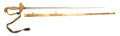 Edged Weapons:Swords, Striking Quality and Unusual Form American Eaglehead Artillery Officer's Straight Sword C. 1825....