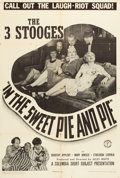 "Movie Posters:Comedy, In the Sweet Pie and Pie (Columbia, 1941). One Sheet (27"" X 41""). From the Leonard and Alice Maltin Collection.. ..."