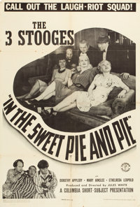 "In the Sweet Pie and Pie (Columbia, 1941). One Sheet (27"" X 41""). From the Leonard and Alice Maltin Collection..."