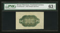 Fractional Currency:Third Issue, Fr. 1255SP 10¢ Third Issue Wide Margin Back PMG Choice Uncirculated 63 EPQ.. ...