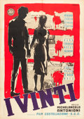 "Movie Posters:Drama, I Vinti (20th Century Fox, 1953). Italian 2 - Foglio (39"" X 55"")....."