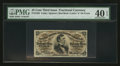 Fractional Currency:Third Issue, Fr. 1292 25¢ Third Issue PMG Extremely Fine 40 EPQ.. ...