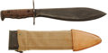 Edged Weapons:Knives, U.S. Model 1917 Bolo Knife....