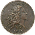 Large Cents, 1793 1C Wreath Cent, Vine and Bars VF20 PCGS. S-8, B-13, R.3....
