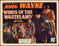 "Winds of the Wasteland (Republic, 1936). Title Lobby Card (11"" X 14"")"