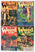 Pulps:Horror, Weird Tales Group (Popular Fiction, 1940-42) Condition: AverageVG.... (Total: 7 )
