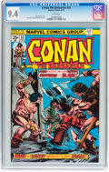 Bronze Age (1970-1979):Miscellaneous, Conan the Barbarian #53 (Marvel, 1975) CGC NM 9.4 White pages....
