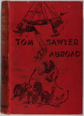 Books:Literature Pre-1900, Mark Twain. Tom Sawyer Abroad. Chatto & Windus, 1894.First English edition, ads dated Feb. 1894. Publisher's il...