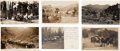 Western Expansion:Goldrush, Real Photo Postcards: Six Oregon Stagecoach Views.... (Total: 6Items)
