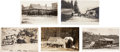 Western Expansion:Goldrush, Real Photo Postcards: Five California Stagecoach Scenes.... (Total:5 Items)