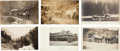 Western Expansion:Goldrush, Real Photo Postcards: Six California Stagecoach Scenes.... (Total:6 Items)