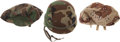 Militaria:Uniforms, United States Kevlar Helmet with Two Extra Covers.... (Total: 3 Items)