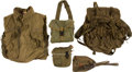 Militaria:Uniforms, Vietnam Era Military Gear,... (Total: 5 Items)