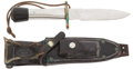 Edged Weapons:Knives, Randall Solingen Made Sawback Survival Knife....