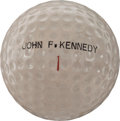 Political:Presidential Relics, John F. Kennedy: Personally-Used Golf Ball....
