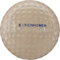 Political:Presidential Relics, Dwight D. Eisenhower: Personally Used Golf Ball....