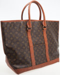 Luxury Accessories:Bags, Louis Vuitton by French Company Classic Monogram Canvas Sac WeekendGM Tote Bag. ...