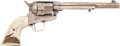 Handguns:Single Action Revolver, Fabulous Early Colt Single Action Army, Delivered to B. Kittridge in Cincinnati in 1876. ...