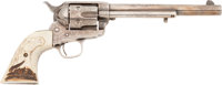 Fabulous Early Colt Single Action Army, Delivered to B. Kittridge in Cincinnati in 1876