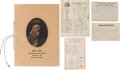 Western Expansion:Cowboy, Buffalo Bill Wild West: Business Records & Menus.... (Total: 5Items)