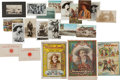 Western Expansion:Cowboy, Pawnee Bill: 21 Pieces of Souvenir Ephemera.... (Total: 21 Items)