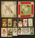 Baseball Cards:Lots, 1910's Era Baseball Card Mini-Type Card Collection (12) With T209,T210 and T211. ...