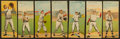 Baseball Cards:Lots, 1911 T201 Mecca Double Folder Collection (14). ...