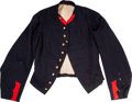 """Military & Patriotic, Colorful, Identified """"Undress Duty"""" Artillery Officer's Jacket..."""