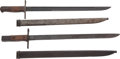 Edged Weapons:Bayonets, Pair of Japanese Type 30 Arisaka Bayonets.... (Total: 2 Items)