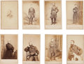 Photography:Cabinet Photos, Group of Eight Portraits Of Civil War Commanders.... (Total: 8 Items)