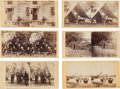 Photography:Stereo Cards, Group Of Six Scarce Alexander Gardner Civil War Stereo Views.... (Total: 6 Items)