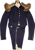 Military & Patriotic:Pre-Civil War, Exceedingly Rare Pattern 1832 Staff Officer's Coatee...
