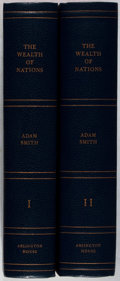 Books:Business & Economics, Adam Smith. An Inquiry into the Nature and Causes of The Wealth of Nations. Edited by Edwin Cannan. Arlington Ho... (Total: 2 Items)