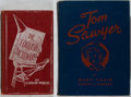 Books:Literature Pre-1900, [Mark Twain]. Two works of Humor. Mark Twain. The Adventures of Tom Sawyer. Illustrated by Arthur Jameson. Whitman P... (Total: 2 Items)