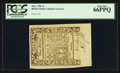 Colonial Notes:Rhode Island, Rhode Island May 1786 3s PCGS Gem New 66PPQ.. ...