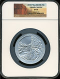 Modern Bullion Coins, 2010-P 25C Grand Canyon Five Ounce Silver, SP70 NGC. NGC Census:(0). PCGS Population (25). (#504973)...