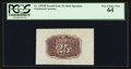Fractional Currency:Second Issue, Fr. 1283SP 25¢ Second Issue Wide Margin Back PCGS Very Choice New 64.. ...